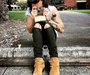 boy, camera, and harrystyles image