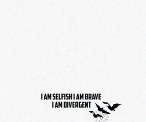 brave, wallpaper, and divergent image