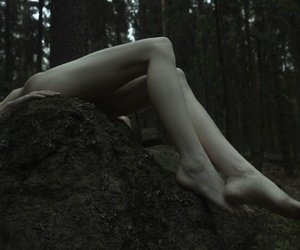 body, skin, and forest image