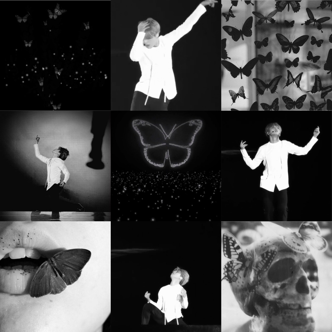 Tjimin Butterfly Black Aethetic By Shxxtxnxnymxxs Do Not Edit Use Credits You May Request Just Follow Me