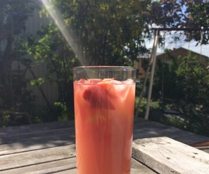 drink, summer, and drinks image