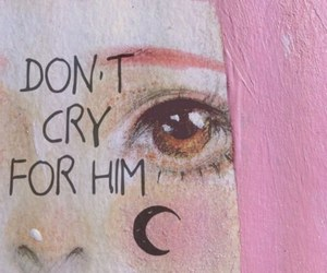 cry, pink, and quotes image