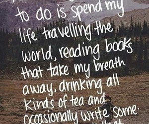 travel, book, and life image