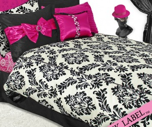 baroque, bedding, and bedroom image