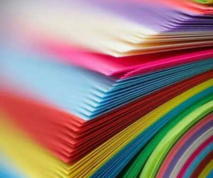 colors, Paper, and rainbow image
