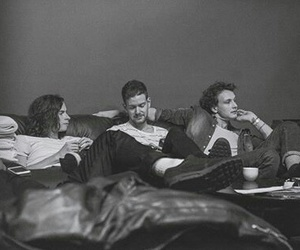 black and white, the 1975, and adam hann image