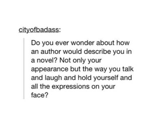 book, girl, and writing image