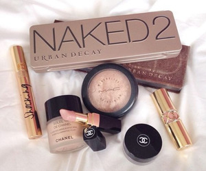 chanel, urban decay, and mac image