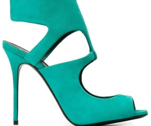 color, fresh, and high heels image