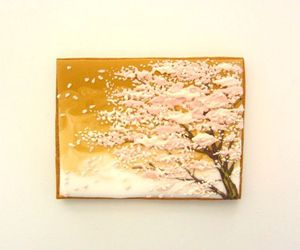 food, japon, and sakura image