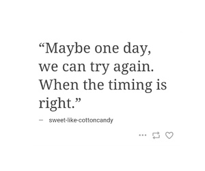 quotes, timing, and love image
