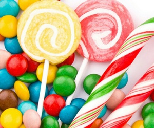 food and colorful candy image