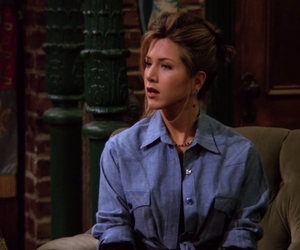 rachel green, chandler bing, and F.R.I.E.N.D.S. image
