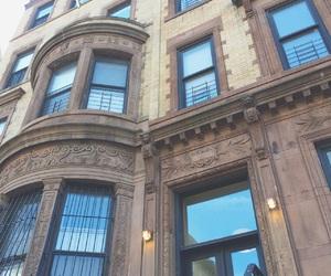 architecture, house, and harlem image