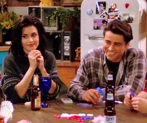90s, joey tribbiani, and monica geller image