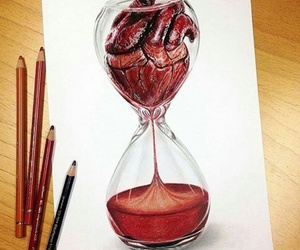 heart, art, and time image