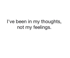 feelings and thoughts image