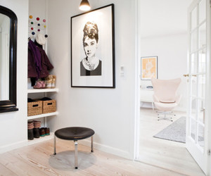 room, audrey hepburn, and white image