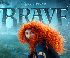 brave, disney, and pixar image