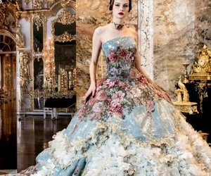 dress and roses image