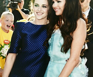 selena gomez, kristen stewart, and kids choice awards image