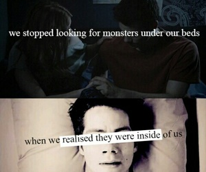 monsters, teen wolf, and inside us image