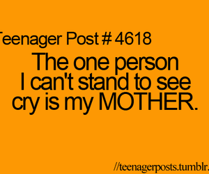 mother, words, and teenager post image