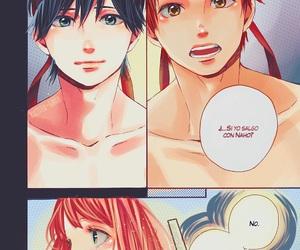 orange, manga, and kawaii image