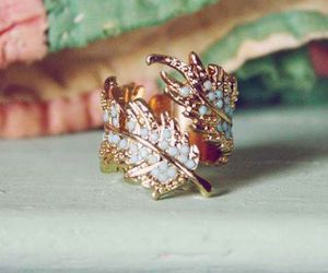 ring and leaves image