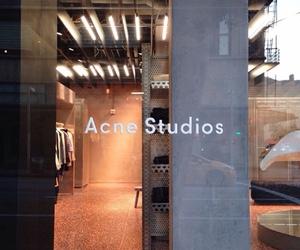 acne studios, orange, and theme image