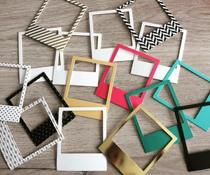 colourful, frames, and patterns image
