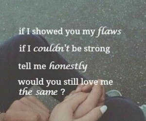flaws, love, and quotes image