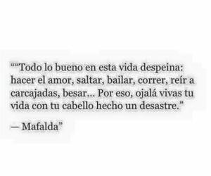 love, frases, and mafalda image