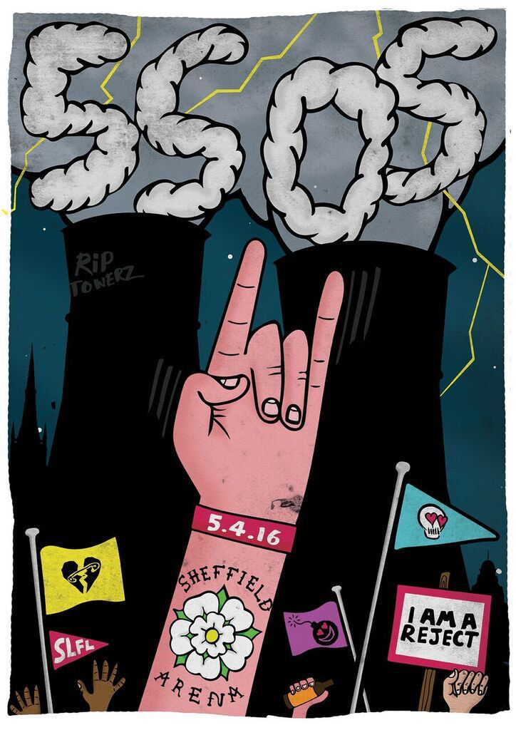 sheffield, sounds live feels live, and slfl image