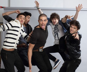 the wanted, max george, and nathan sykes image