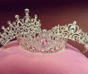 Queen, crown, and luxury image