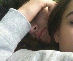 boyfriend, girlfriend, and hug image