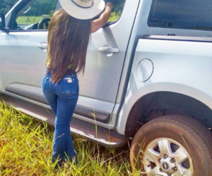 Cowgirl, hat, and ranch image