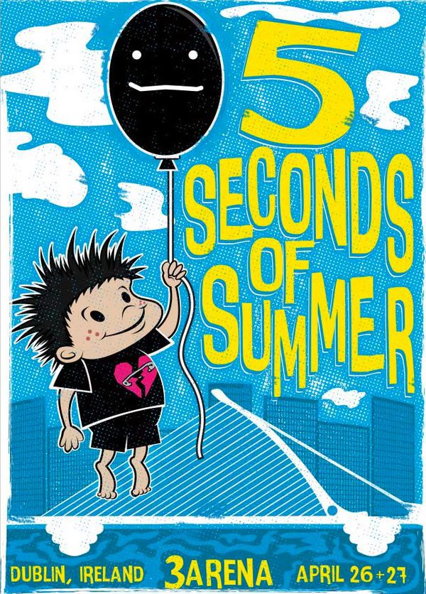 dublin, 5sos, and 5 seconds of summer image