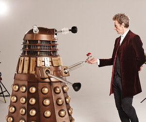 Dalek, doctor who, and peter capaldi image