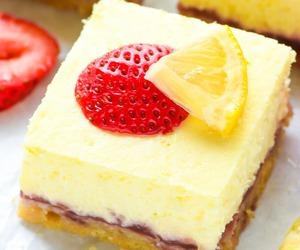 bars, cheesecake, and cream cheese image