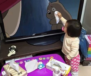 cute, baby, and anime image
