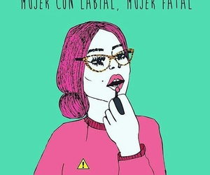 fuerza, mujer, and vida image