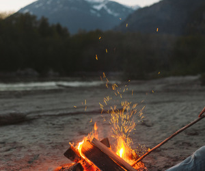 fire, adventure, and travel image