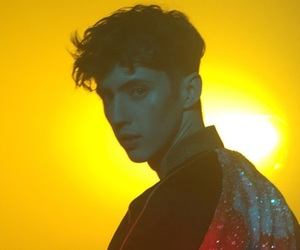 boy, troye sivan, and yellow image