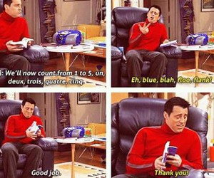 french, friends, and Joey image