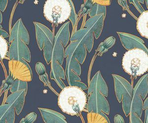 flowers and pattern image