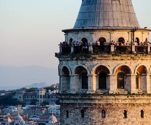 istanbul, galata, and travel image