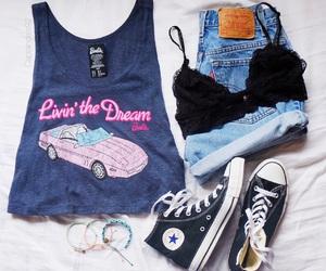 barbie, bra, and shirt image