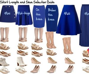 skirt, outfit, and shoes image